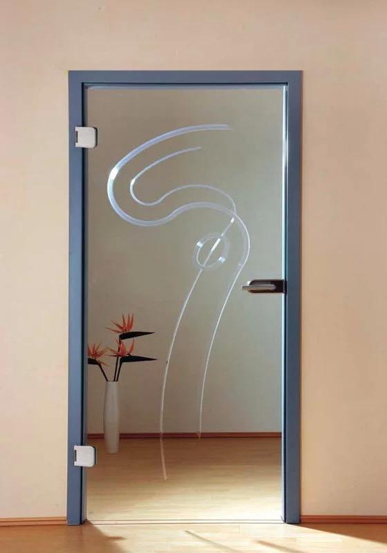 sklenene dvere